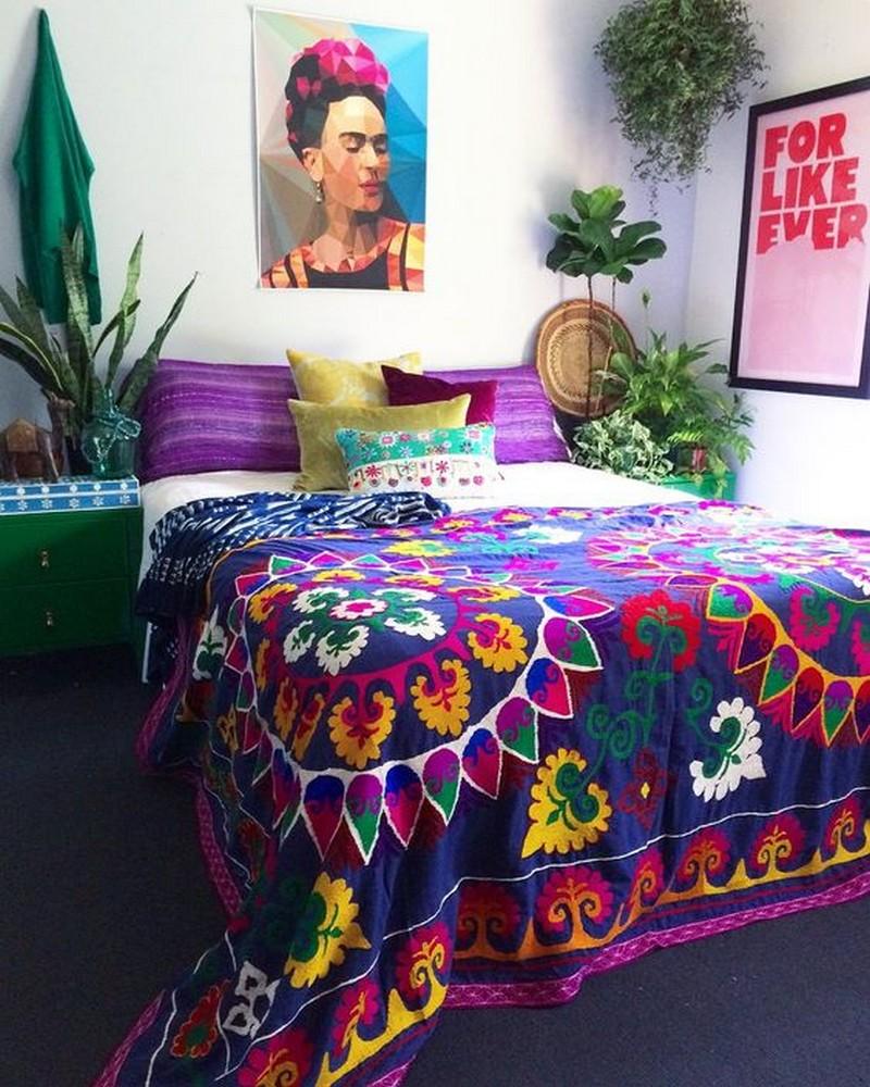 Bohemian Bedroom Decor Ideas (34)