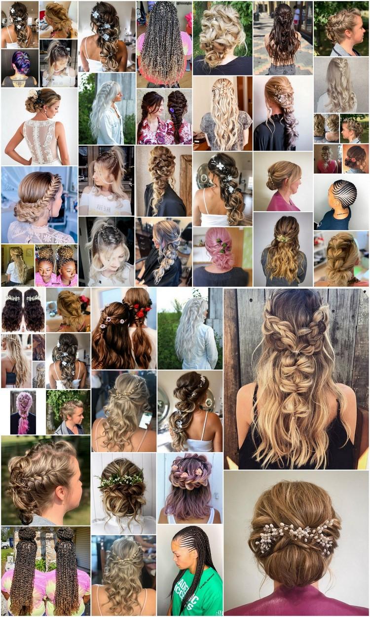 50 Cute Bohemian Hairstyle Ideas for Girls
