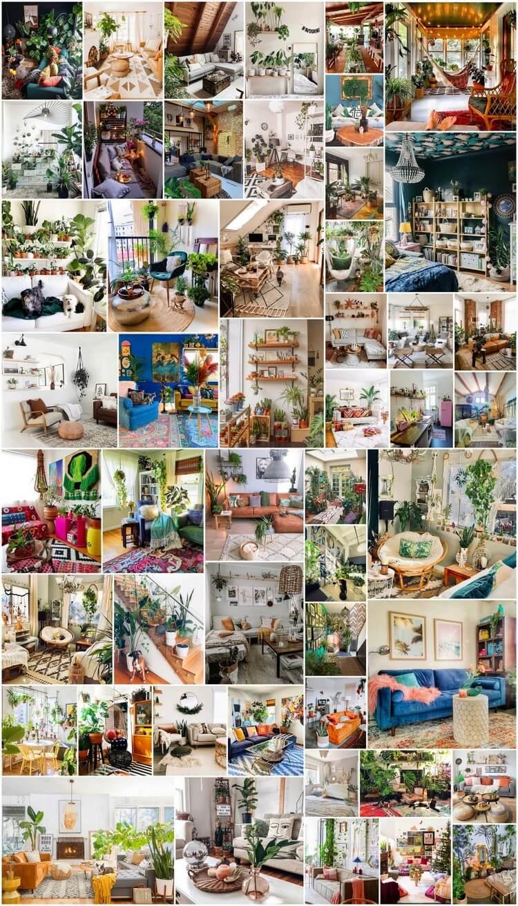 50 Romantic Bohemian House Interior Decor Ideas