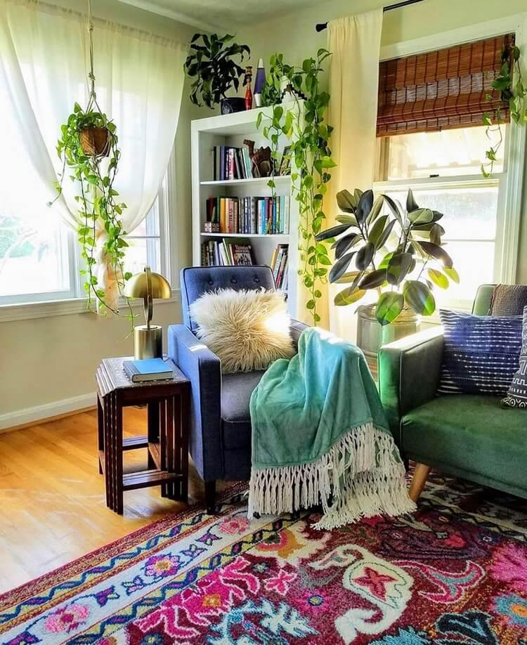 Bohemian House Interior Decor (25)