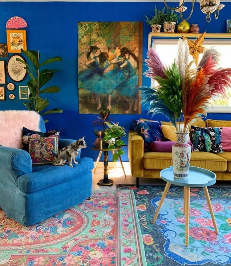 Bohemian House Interior Decor (27)