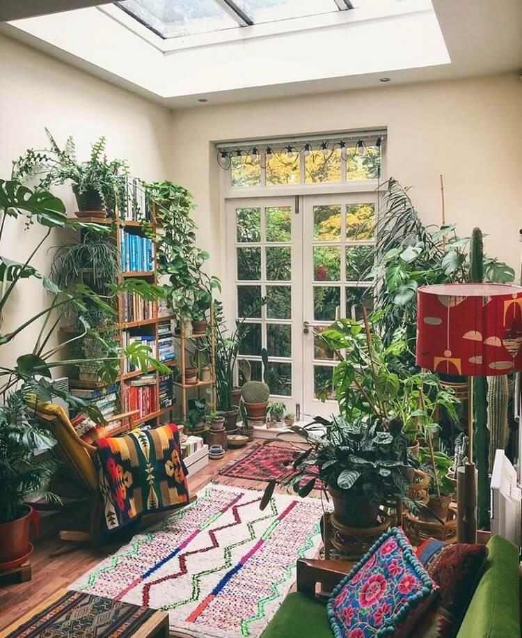 Bohemian House Interior Decor (31)