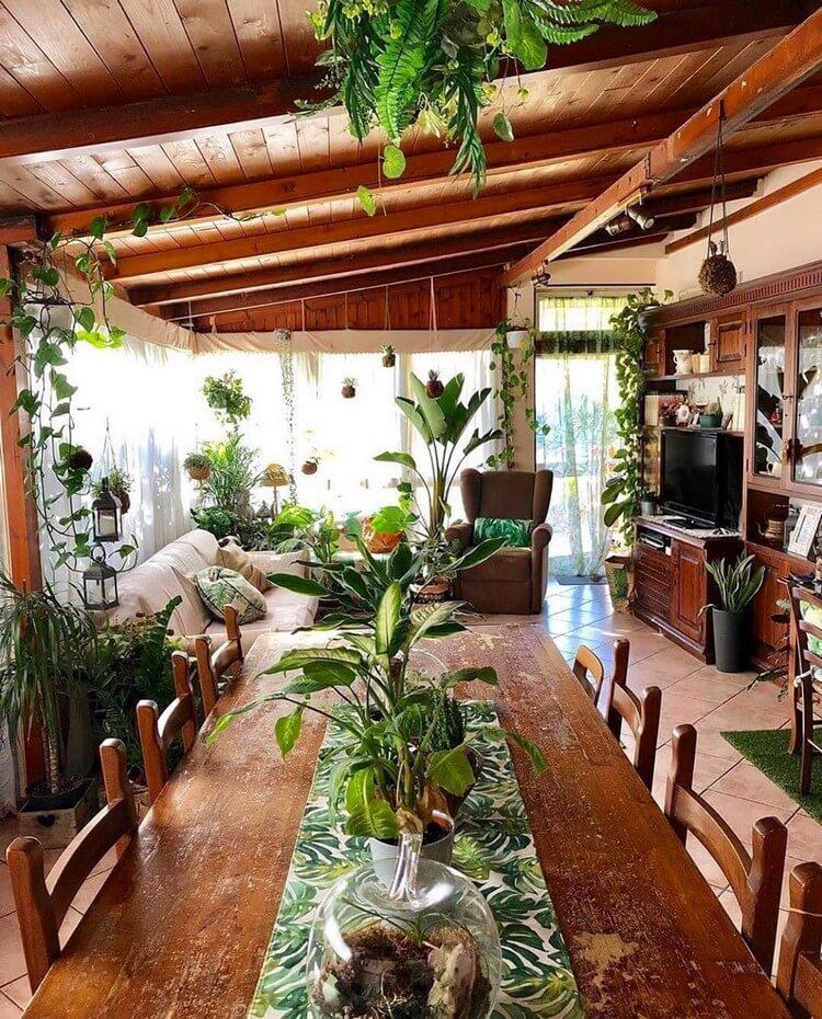 Bohemian House Interior Decor (46)