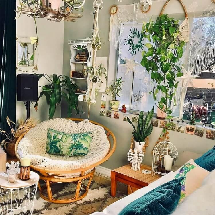 Bohemian House Interior Decor (47)