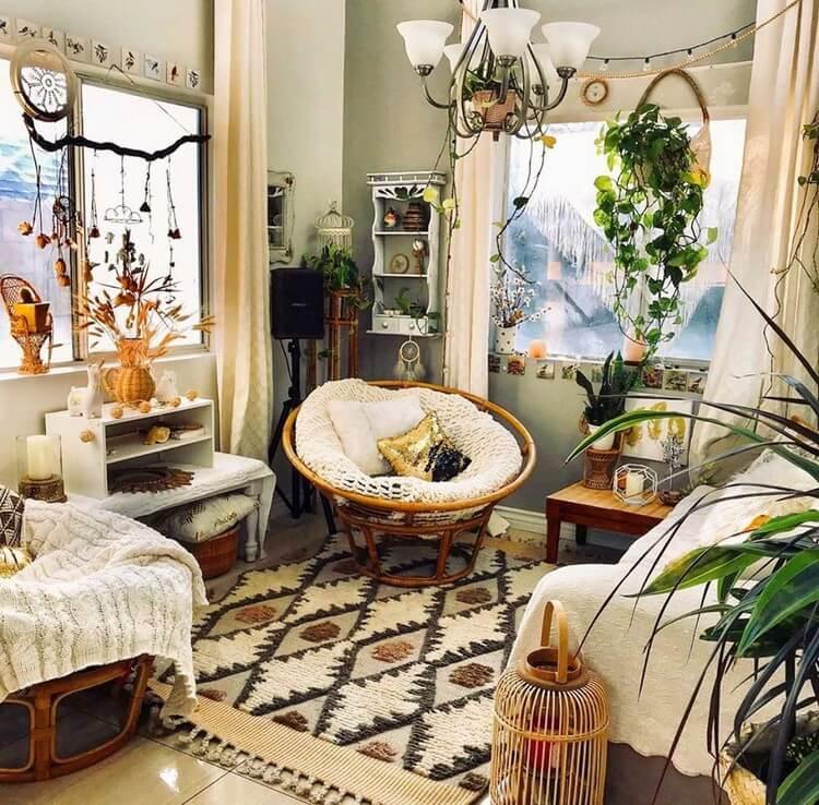Bohemian House Interior Decor (7)