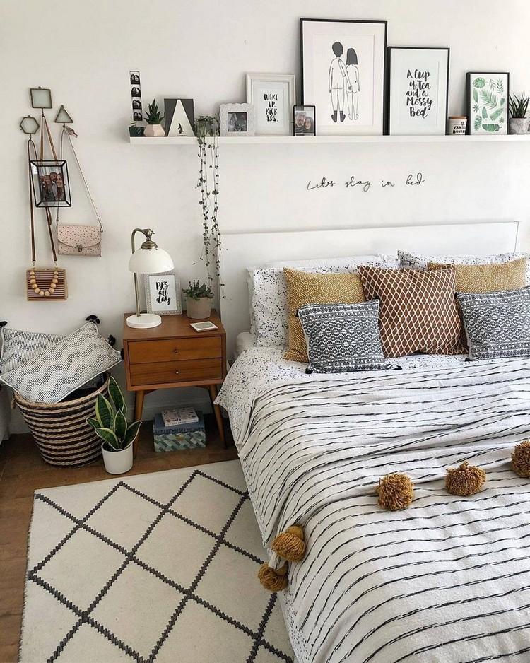 Bohemian Style Bedroom Design (1)