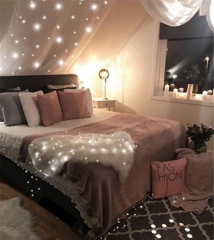 Bohemian Style Bedroom Design (10)