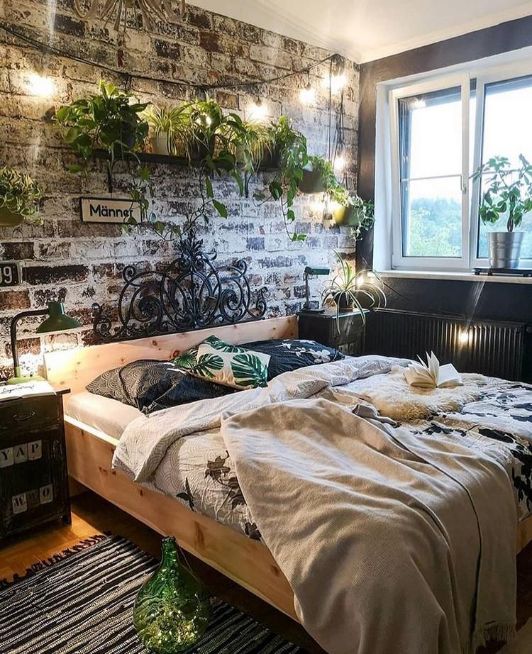 Bohemian Style Bedroom Design (11)