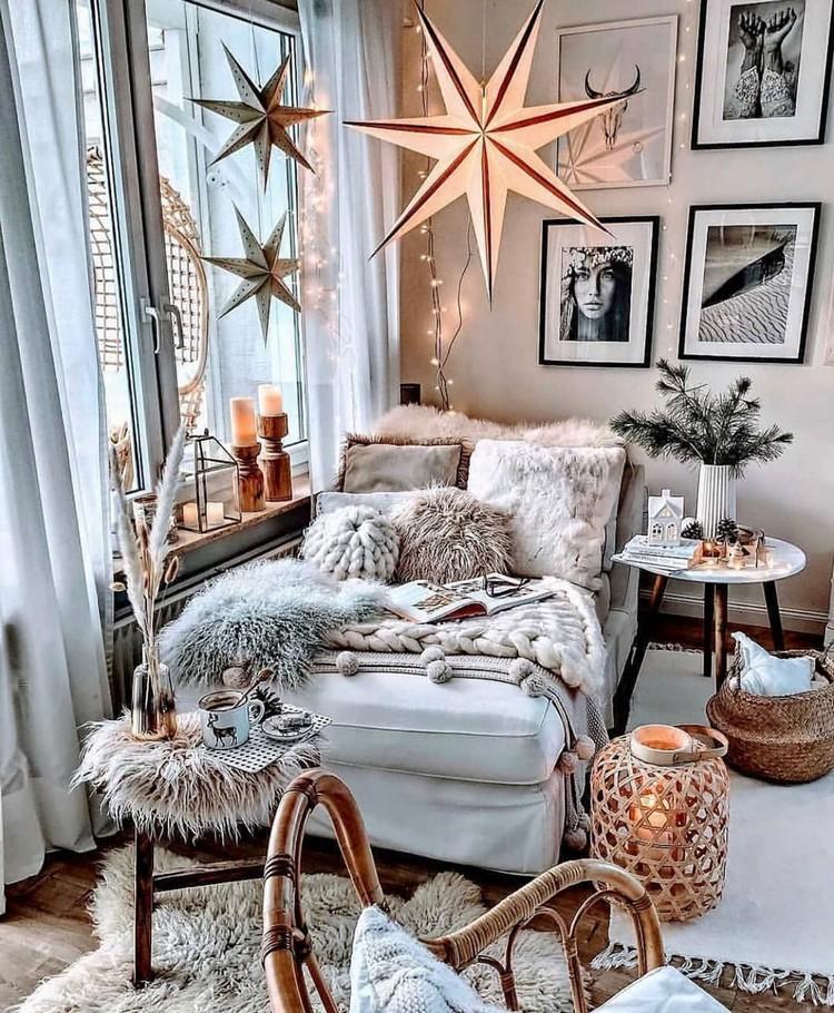 Bohemian Style Bedroom Design (12)