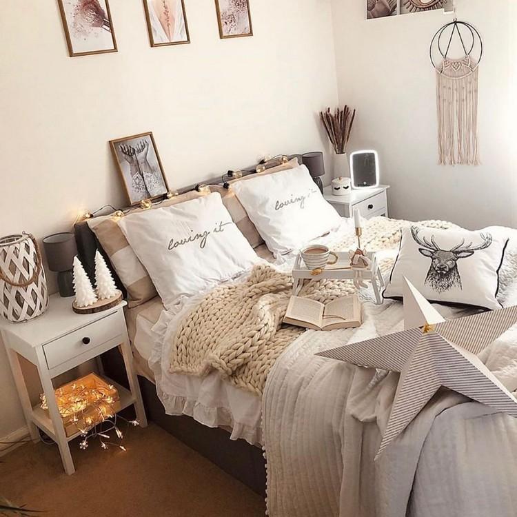 Bohemian Style Bedroom Design (13)