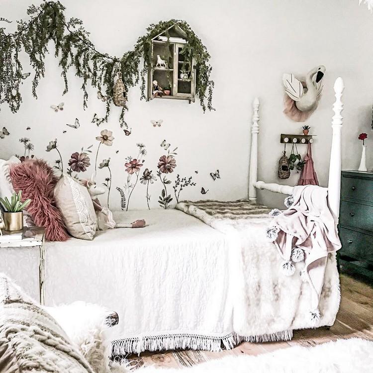 Bohemian Style Bedroom Design (14)
