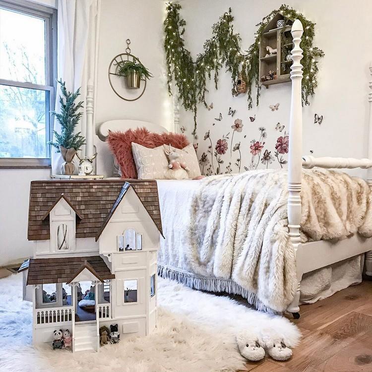 Bohemian Style Bedroom Design (17)