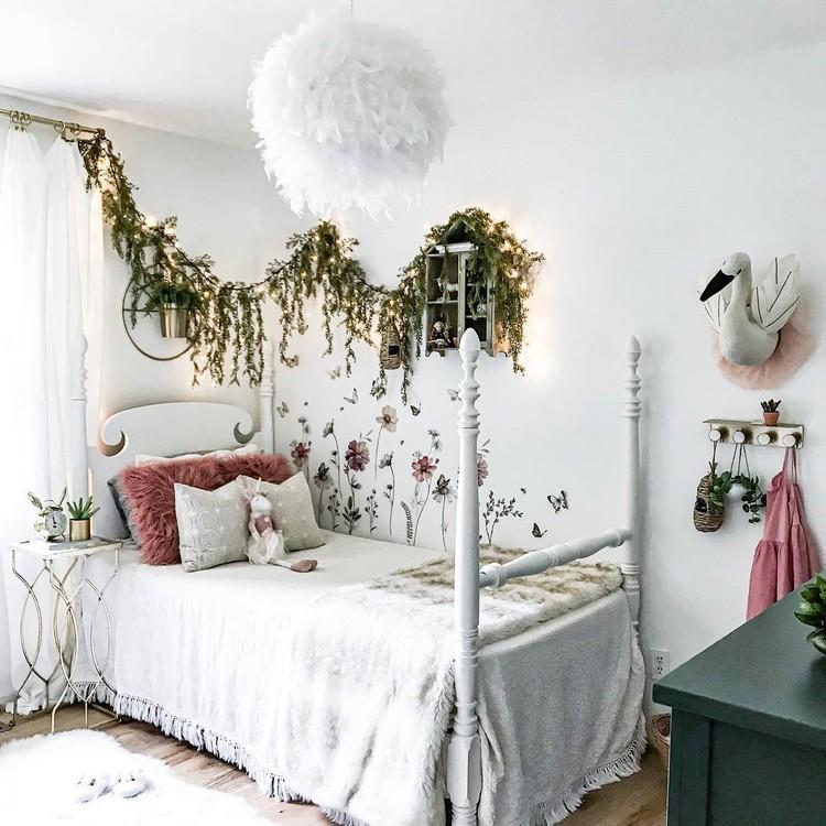 Bohemian Style Bedroom Design (18)