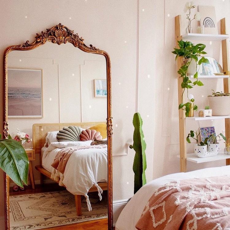 Bohemian Style Bedroom Design (23)