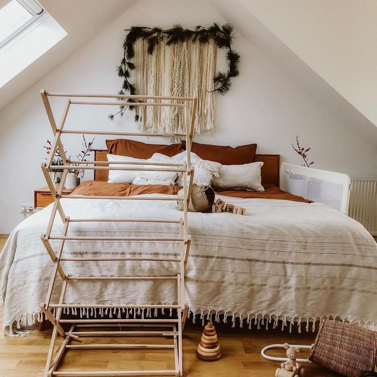 Bohemian Style Bedroom Design (5)