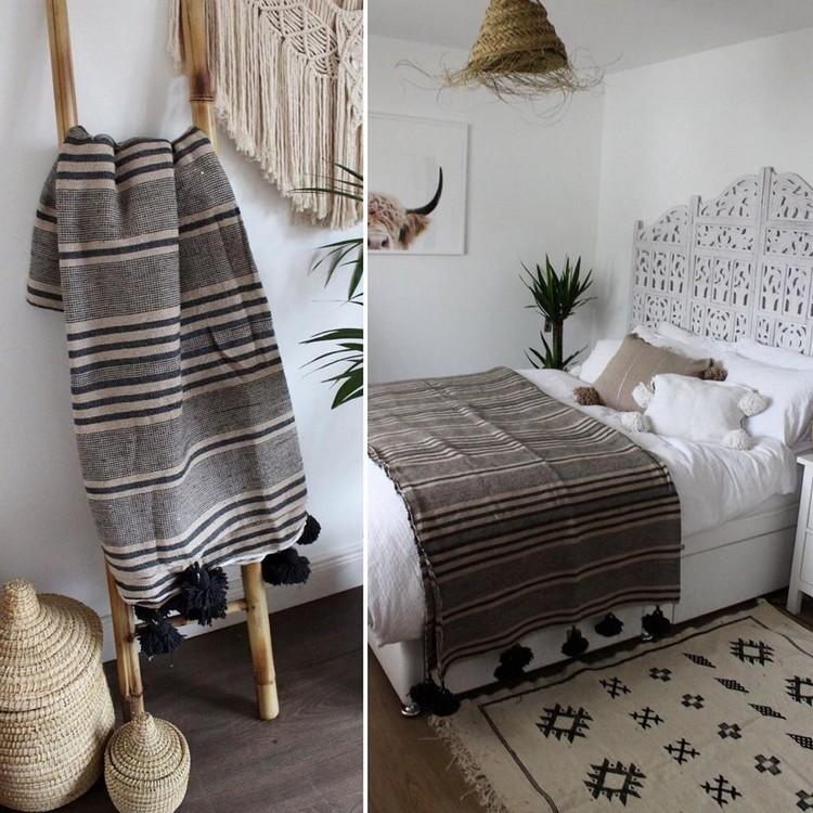 Bohemian Style Bedroom Design (6)